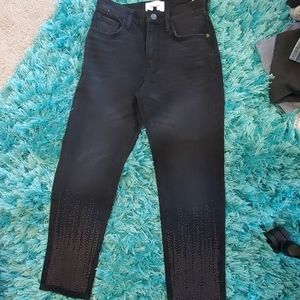 nwt current/Elliott vintage cropped  jean Belmont